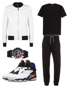 """""""when he's just chillin"""" by belanda-dee on Polyvore featuring Dolce&Gabbana, Armani Jeans and Seiko"""
