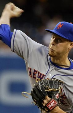 New York Mets starting pitcher Zack Wheeler works against the San Diego Padres in the first inning of a baseball game, Thursday, Aug. 15, 2013, in San Diego. (AP Photo/Lenny Ignelzi)