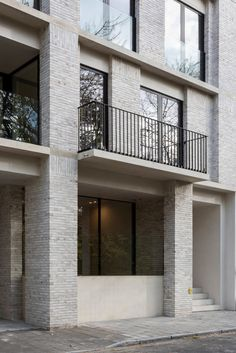 Residential Building Design, Residential Complex, Brick Architecture, Modern Residential Architecture, Brick Detail, Brick Construction, Stone Facade, Building Facade, Facade Design
