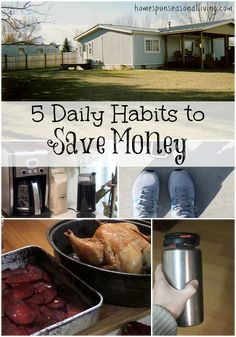 Create a frugal lifestyle with these 5 daily habits to save money over the long term.