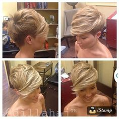 30 Pictures of Bob Hairstyles – Latest Bob HairStyles Undercut Hairstyles, Funky Hairstyles, Short Hairstyles For Women, Undercut Pixie, 2015 Hairstyles, Short Thin Hair, Short Hair Cuts, Short Hair Styles, Pixie Cuts