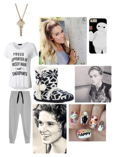 """""""On tour with The Vamps- Pranking Tris with Brad!!"""" by nbrmacdonald ❤ liked on Polyvore featuring T By Alexander Wang, LE3NO, The Giving Keys and Nail Pop"""