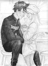 Couple drawings, art drawings, teddy lupin, harry potter next generation, burdge bug Couple Drawings, Easy Drawings, Animal Drawings, Pencil Drawings, Sitting On His Lap, Teddy Lupin, Art Journal Prompts, What To Draw, Actress Pics