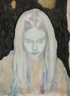 "Glenn Sorensen - ""Boy"", Oil on canvas, 48 x 35 cm, 2012-2013"