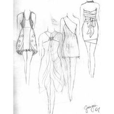 Fashion Design Sketches For Beginners beginner fashion sketches