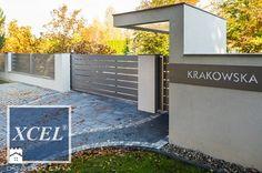 Nowoczesne ogrodzenie aluminiowe Horizon Massive Kraków - zdjęcie od XCEL…