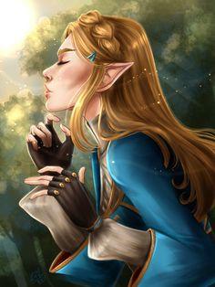 Zelda - Breath of the Wild by KarotheKreator