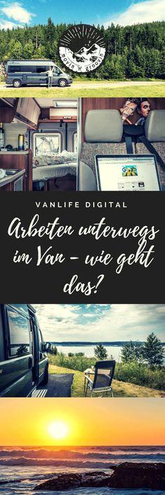 Vanlife Digital: Arbeiten unterwegs – wie geht das? Wie kann ich unterwegs überhaupt arbeiten? Wo zahle ich Steuern? Wo landet meine Post?...