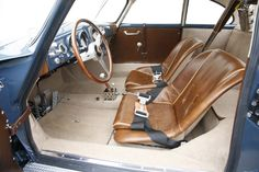 Porsche 356 outlaw I want those seats!!!                                                                                                                                                      More