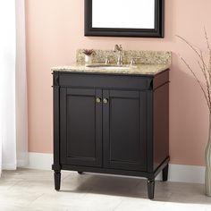 """30"""" Chapman Vanity for Undermount Sink - Espresso"""
