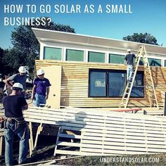 Even a #smallbusiness is able to leverage the advantages that going solar brings from lower bills to fonder customers – who doesn't love a #greenbusiness? More: http://understandsolar.com/go-solar-as-a-small-business/  #understandsolar #solar #solarpower