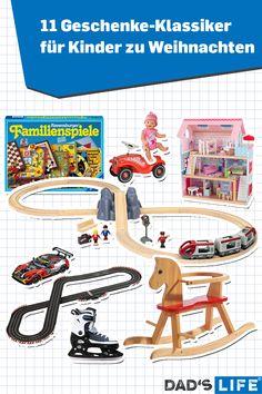 Gibt es Weihnachtsgeschenke für Kinder mit denen man alles richtig macht? Ja! Wir haben hier die meist-gewünschten Geschenke verglichen und übersichtlich aufbereitet. #weihnachten #geschenke #geschenkideen #kinder #klassiker Bobby Car, Family Games, Gift Ideas For Women, Rocking Horse Toy, Children Toys