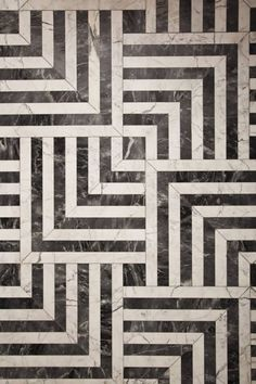 BLACK & WHITE TILES FROM Kelly Wearstler interior design- IN LOVE!!!!