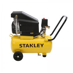 Stanley 21L Direct Drive Air Compressor, 1.5hp, 2 Year Warranty. The Stanley 1.5HP 21L Oil Free Direct Drive Air Compressor is suitable for medium duty DIY tasks around the home such as automotive work and inflating. With 85 L/min free air delivery at 145PSI this Stanley compressor will be a great asset to any home garage. Chainsaw Sharpener, Garage House, Air Compressor, Power Tools, Outdoor Power Equipment, Delivery, Oil, Medium, Free