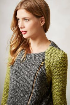 Moto Sweater Jacket - anthropologie.com