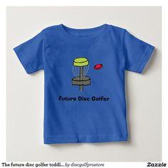 The future disc golfer toddler t-shirt