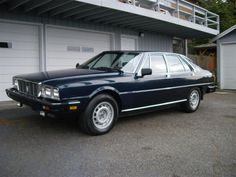 Learn more about 1982 Maserati Quattroporte III on Bring a Trailer, the home of the best vintage and classic cars online. Maserati Quattroporte, Classic Cars Online, Dream Garage, My Ride, Cool Cars, Automobile, Vehicles, Trains, Motorcycles
