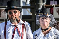 Image result for steamfest fashion The Best Is Yet To Come, Cyberpunk, Steampunk, Captain Hat, Sci Fi, Costumes, Hats, Image, Fashion