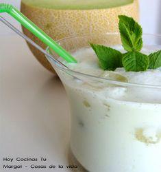 Hoy Cocinas Tú: Batido de melón con yogur a la menta