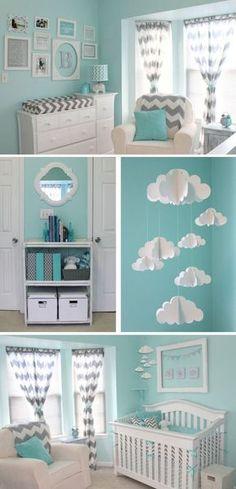 Imaginando su habitación I #bebé #baby #decoración