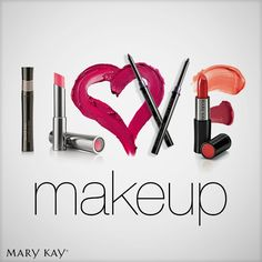 I ♥ my Mary Kay Makeup! ;)  Order online or let's have some fun one on one or with a party of your friends! www.marykay.com/gbutler