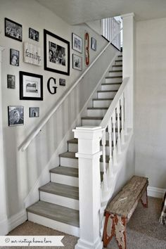 Decoration stairway hall stairs ideas and decorating designing stair staircase wall pictures ha . Stair Art, Staircase Wall Decor, Stair Walls, Stair Decor, Staircase Design, Staircase Ideas, Entryway Stairs, Basement Stairs, Basement Bathroom