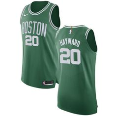 Nike Celtics  20 Gordon Hayward Green NBA Authentic Icon Edition Jersey  Boston Bruins d248327f2