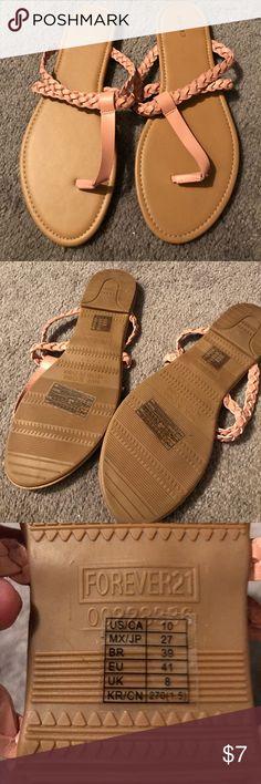 Brand new forever 21 sandals size 10 Brand new never used sandals from forever 21 Forever 21 Shoes Sandals