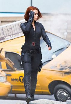 Black Widow, Avengers - The guys I work with decided we should all have Avenger character names. This is mine. True story.