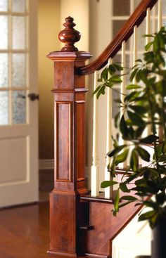 Stairway   Railing, Posts And Spindals