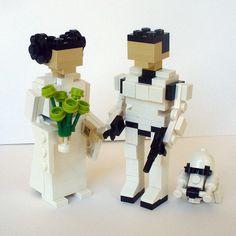Star Wars Wedding Cake Toppers / Liz Lemon / 30 Rock