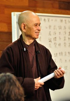 New Heart Sutra translation by Thich Nhat Hanh Posted on September 2014 by Plum Village