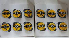 Lemon minion cupcakes