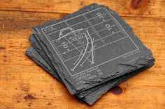 Oregon Greatest Plays Coasters - Slate Coasters (Set of 4) – Points and Pints