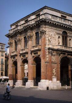 """413. Andrea Palladio/// Palazzo del Capitaniato /// Vicenza,Italy/// 1565-72 OfHouses guest curated by Studiospazio: """"The loggia on the ground floor is perceived as the main space of the house. It..."""