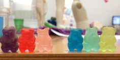 you know you're a designer when you start separating your gummy bears into warm & cool colors