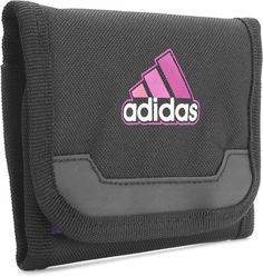 Adidas Perf ESS Black Unisex Wallet With Velcro Closure @ Rs.699