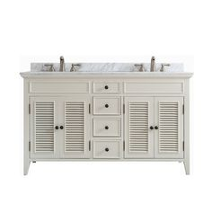 """Found it at Joss & Main - Peggy 60"""" Double Vanity Set"""