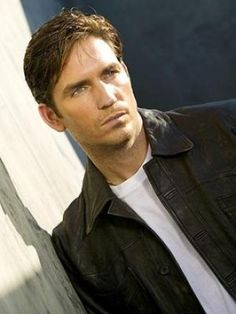 "jim caviezel - john reese on ""person of interest"" - also, what a piece of man."
