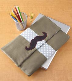 Mustache Laptop Case : Game & Play Projects :  Shop | Joann.com