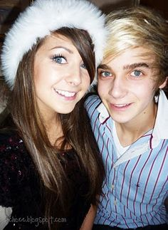 Zoe and Joe Sugg. Is it me or do they loo really young❤️