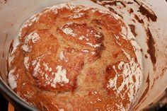 Rukiinen pataleipä Sarpanevan padassa Pancakes, Bread, Breakfast, Food, Morning Coffee, Brot, Essen, Pancake, Baking