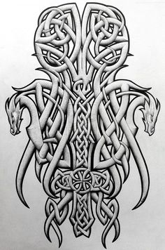 A Celtic symbol , wonderful for tattoo