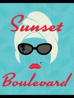 'Sunset Boulevard', Movie Poster.