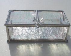 2 « x 4 » - boîte à bijoux vitrail et souvenir - groupe cadeaux disponibles