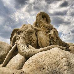 Escultura de Arena! Increíble!!!
