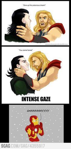 Thor and Loki...haha