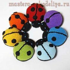 ladybug...free diagram pattern... | AMIGURUMI | Pinterest