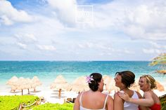 Mexico Wedding / Bride's Style sharing a slice of Paradise at Ocean Coral & Turquesa with her BFFs - Priceless!!!  http://www.momentsthatmatterphotography.com/#!blog/lwgjq  Moments That Matter Wedding Photography in Riviera Maya We capture photo Wedding Day Love Stories in Cancun, Playa del Carmen, Puerto Morelos, Puerto Aventuras and Tulum.  Canadian Photographer-Artist living in Mexico