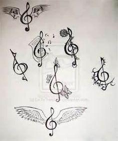Tattoos  Treble Clef Tattoo                                                                                                                                                                                 More